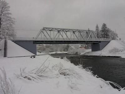 sniezna sceneria